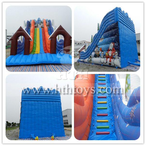 Snow inflatable slide_Inflatable slide,inflatable bouncer,inflatable