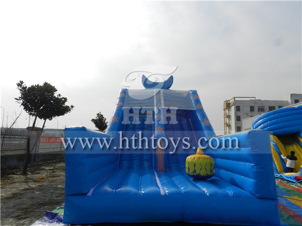 dolphin inflatable water slide_Inflatable slide,inflatable bouncer